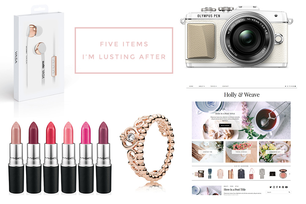 5 items i'm lusting after