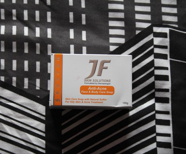 JF Skin Solutions Anti-Acne Soap Review