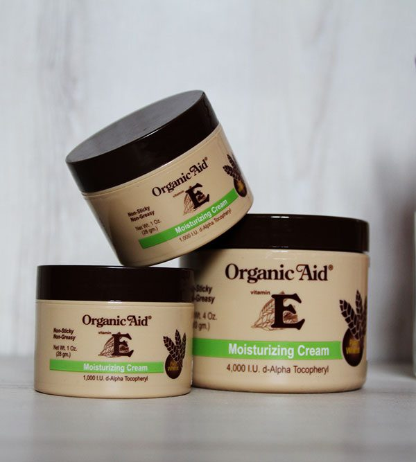 Organic Aid Vitamin E Moisturizing Cream Review