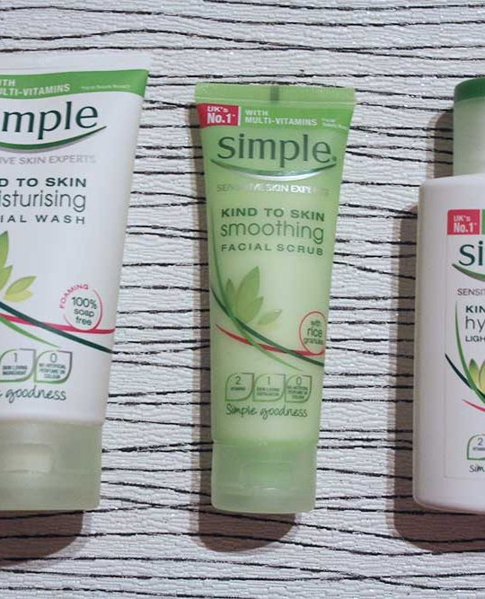 Simple Skincare Review