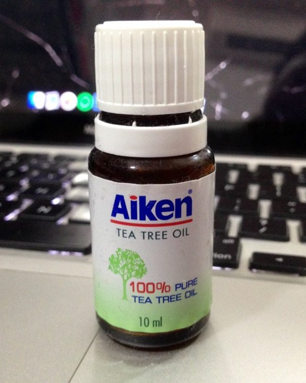 Aiken Tea Tree Oil 100% Pure Tea Tree Oil Review