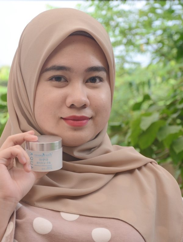 Moisturised Skin with Hansaegee Nature #HydrationIsTheKey